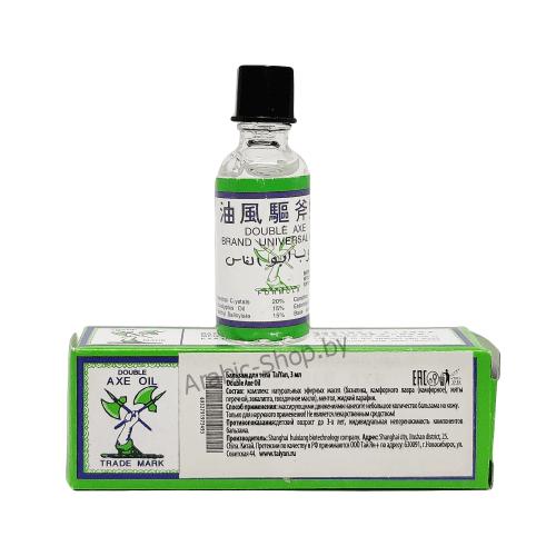 Бальзам обезболивающий (Double Axe Oil Tai Yan, 3 мл)