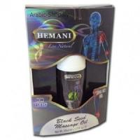 """Массажное масло с Чёрным тмином """"Hemani Black Seed Massage Oil"""""""