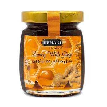 """Мед с Имбирем """"Hemani Honey Ginger"""" (125 гр)"""