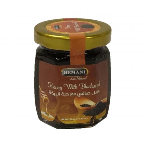 Мед с Чёрным Тмином (Hemani, 125 гр)