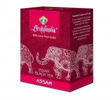 Чай черный Индийский листовой Ассам (Assam Indian Black Tea Bestofindia) 100 гр