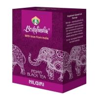 Чай черный Индийский листовой Нилгири (Nilgiri Indian Black Tea Bestofindia) 100 гр