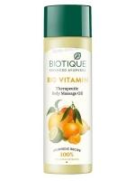 Витаминизирующее массажное масло для тела (Biotique Bio Vitamin, 200 мл)